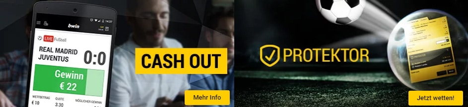 Bwin Promotions Cash out Protektor