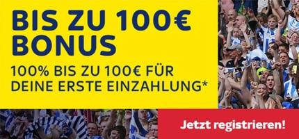 skybet 100 € Bonus