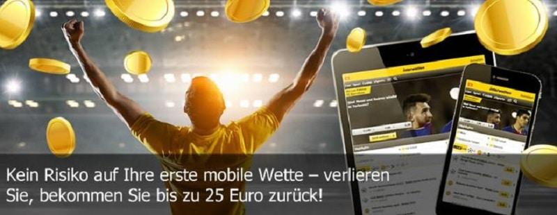 interwetten Mobile Willkommensangebot
