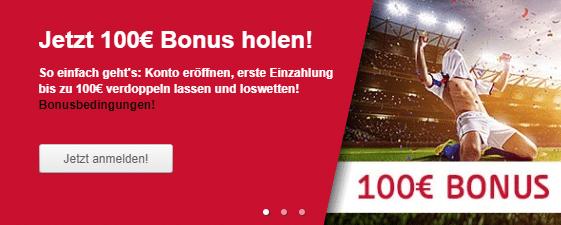 Tipico 100 € Bonus