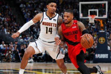Denver Nuggets Portland Trail Blazers