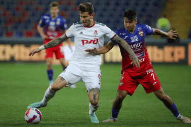 CSKA Moscow 1-2 Lokomotiv Moscow