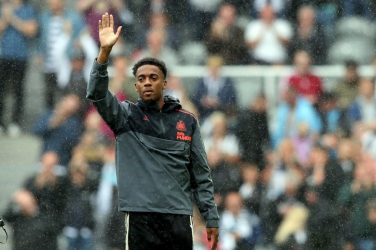 New signing Joe Willock presented to Newcastle fans at St. James Park