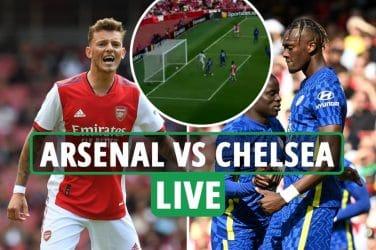 Arsenal vs Chelsea LIVE